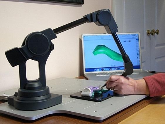 Трёхмерный сканер своими руками