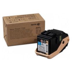 Заправка картриджа 106R02606 Xerox Phaser 7100, 7100DN, 7100N (голубой)
