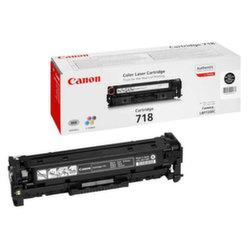 Заправка картриджа Canon 718Bk + чип