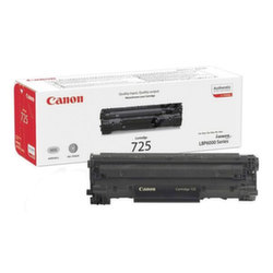 Заправка картриджа Cartridge 725 Canon LaserBase MF3010 i-Sensys, LBP6000B, LBP6020B