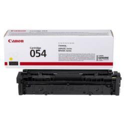 Заправка картриджа Canon 054 Yellow + чип
