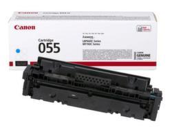 Заправка картриджа Canon 055 Cyan + чип