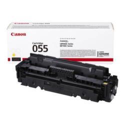 Заправка картриджа Canon 055 Yellow + чип
