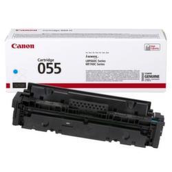 Заправка картриджа Canon 055H Cyan + чип