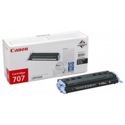 Заправка картриджа Cartridge 707Bk Canon LBP-5000 i-Sensys Laser Shot, LBP-5100