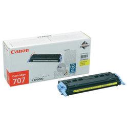 Заправка картриджа Cartridge 707Y Canon LBP-5000 i-Sensys Laser Shot, LBP-5100