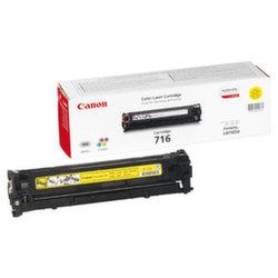 Заправка картриджа Cartridge 716Y Canon LaserBase MF8030 i-Sensys, MF8040, MF8050, MF8080, LBP5050