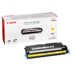 Заправка картриджа Cartridge 717Y Canon LaserBase MF8450 i-Sensys