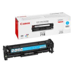 Заправка картриджа Canon 718C + чип