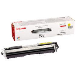 Заправка картриджа Canon 729 Yellow + чип