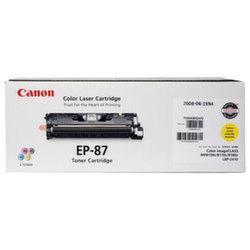 Заправка картриджа Canon EP-87Y + чип