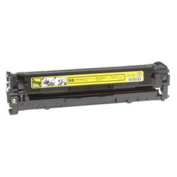 Заправка картриджа CB542A (125) HP Color LaserJet CM1312, CP1215, CP1515, CP1518