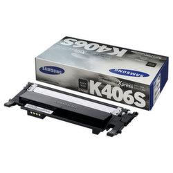 Заправка картриджа CLT-K406S Samsung CLP-360, CLP-365, CLP-368, CLX-3300, CLX-3305, Xpress SL-C410, SL-C460 + чип
