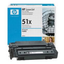 Заправка картриджа Q7551X (51X) HP LaserJet M3027 MFP, M3035 MFP, P3005