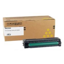 Заправка картриджа Ricoh SPC252HE Yellow (SP C252HE 407719) + чип