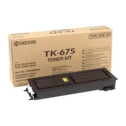 Заправка картриджа TK-675 Kyocera Mita KM2540, 2560, 3040, 3060 + чип